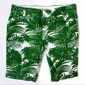 Old Navy Palm Tree Bermuda Printed Shorts